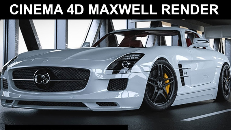 Realistic Interior Exterior Scene Rendering MAXWELL for Cinema 4d Tutorials Step by Step