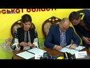 Визит Марины Порошенко подписание меморандума и встреча со школьниками