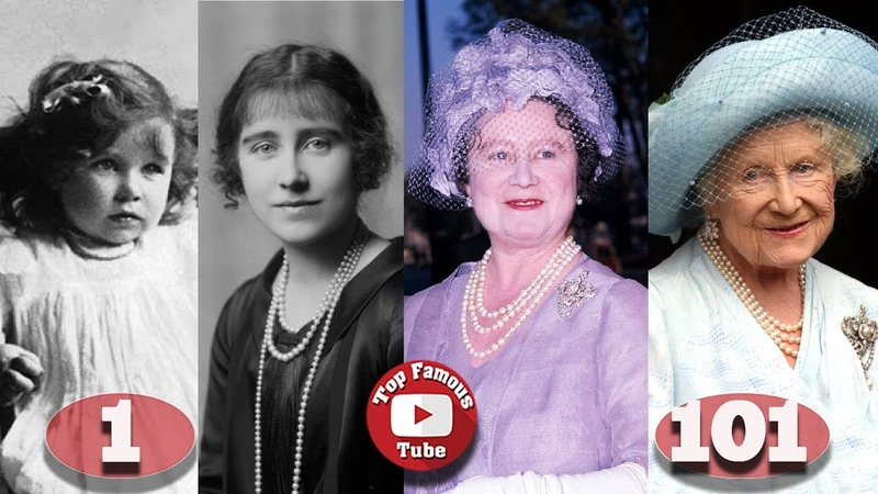 Elizabeth Bowes-Lyon | The Queen Mother | Transformation From 1 To 101 Years Old