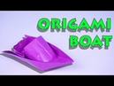 How To Make A Boat Made Of Paper- Origami Tutorial By TTH Origami