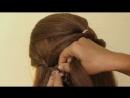 Потрясающая прическа для волос средней длины