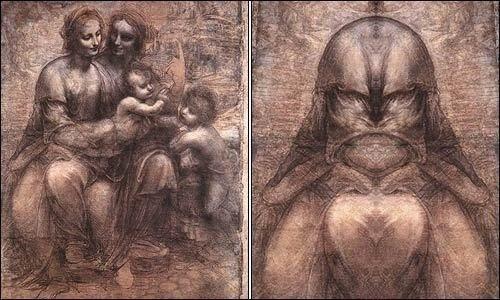 Загадка Леонардо да Винчи. Лицо Бога.