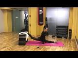 SLs  Моя тренировка??♀️как сесть на шпагат Home stretching