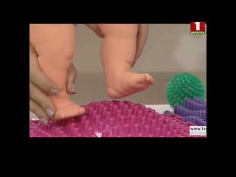 О модульных ковриках ОРТОДОН в телепередаче «Детский доктор» на канале «Беларусь 1»