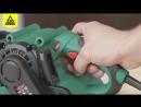 Обзор ленточной шлифовальной машинки Hammer Flex LSM 800B