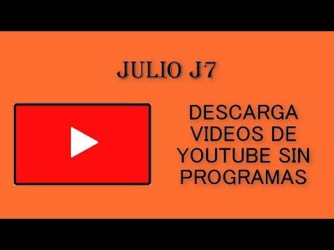 COMO DESCARGAR VÍDEOS DE YOUTUBE SIN PROGRAMAS NI APLICACIONES PC