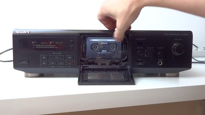 Sony TC-KE300 as MP3/FLAC player - Tapeless Deck Project