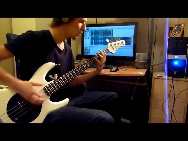Rokkinpo Goroshi - Maximum The Hormone - Bass Cover (Tabs)