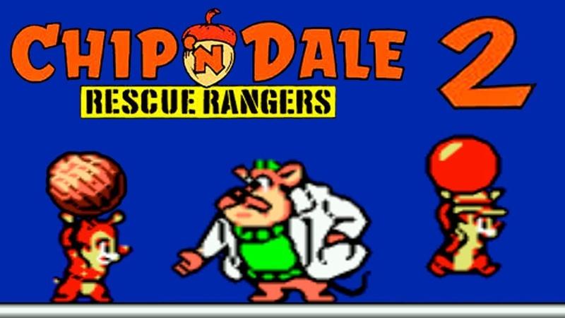 Chip And Dale 2 прохождение Чип И Дейл 2 (NES, Famicom, Dendy)