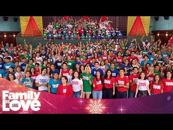 """ABS-CBN Christmas Station ID 2018 """"Family Is Love"""""""