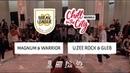 Magnum Warrior vs Uzee Rock Gleb I QUARTER FINAL I Chill in the City Brussel 2018