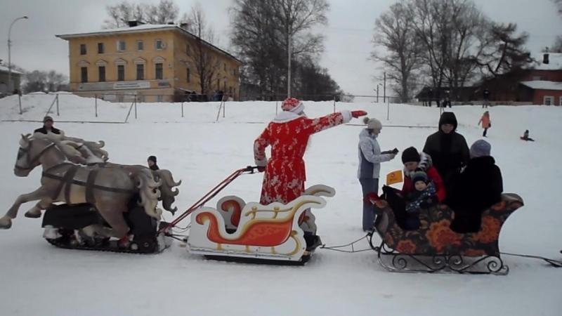 Мото-сани нью-Деда Мороза! ГужевTV