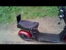 Аудиосистема на мотоцикл скутер - электроскутер 2