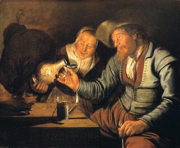 Серия работ «Пять чувств» нидерландского художника Ян Минсе Моленар, 1637 Пять способов познания реальности. Картины висят в Королевской галерее Маурицхёйс (Гаага). Рядом с картиной «Девушка с