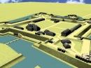 Слуцкая Цытадэль Новы Замак рэканструкцыя 3D Мікола Волкаў