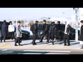 191205 bts leaving for us from incheon airport