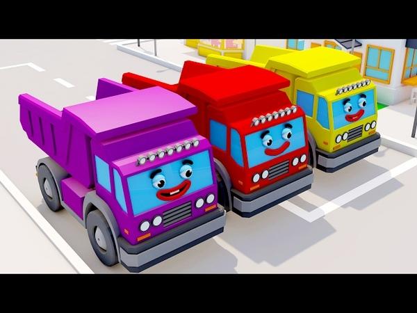 Dessin Animé pour bébé - Camions de pompier - Le Petit Voitures et Camions