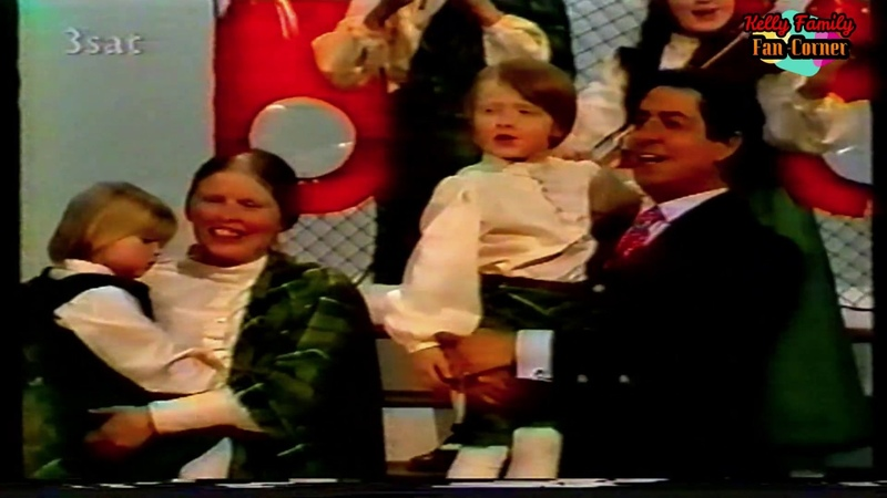 Kelly Family Erster Auftritt in Deutschland mit Vico Torriani 1979