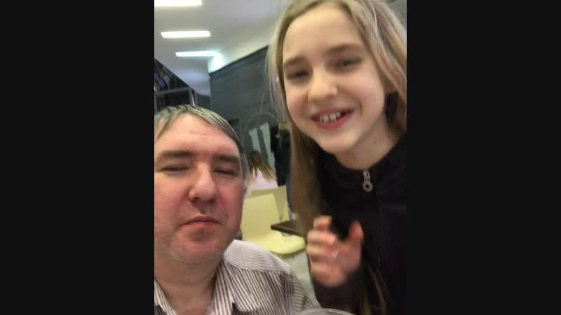 Время с дочкой