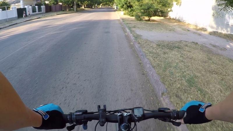 Велотренировка часть 1 день 1. Керчь и вокруг. 18.08.2018
