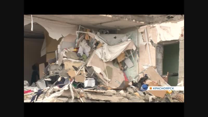 Жители взорвавшегося дома на Кандагарской возвращаются к руинам