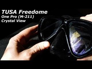 Подводная маска Tusa Freedome One Pro. Обзор подводной маски.