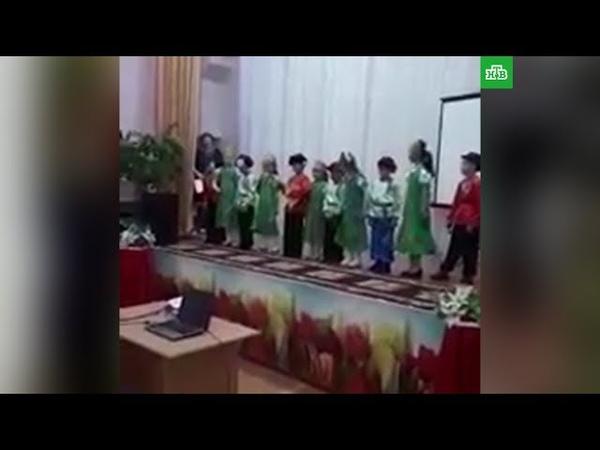 Учительница умерла прямо на сцене во время концерта