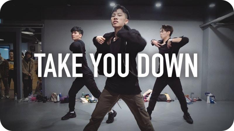 1Million dance studio Take You Down Chris Brown Jinwoo Yoon Choreography
