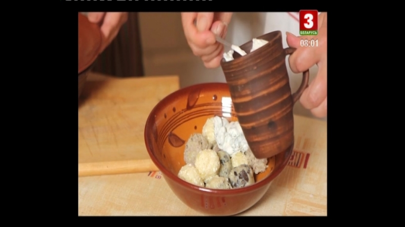40 Беларуская кухня Кнедлики