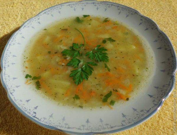 Простой и вкусный куриный суп