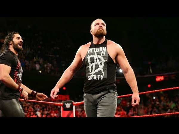 Dean Ambrose is Back - The Shield Returns in Raw, Aug.13, 2018