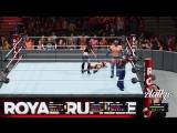 hbn30 Man-Woman Intergender Royal Rumble Match (WWE 2K18 PC Mods) Reigns, Rollins, Bella Twins, Paige