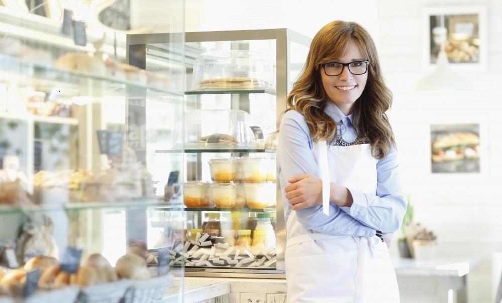 Многие розничные пекарни имеют витрины и продают свои товары непосредственно своим клиентам.