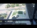 Реконструкция здания Беларуськалия Вид с лесов на крыше