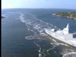 HMS visby Corvette