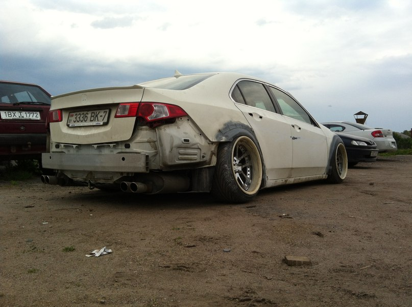 Acura Tsx 2010 The First Stanced In Belarus Page 3