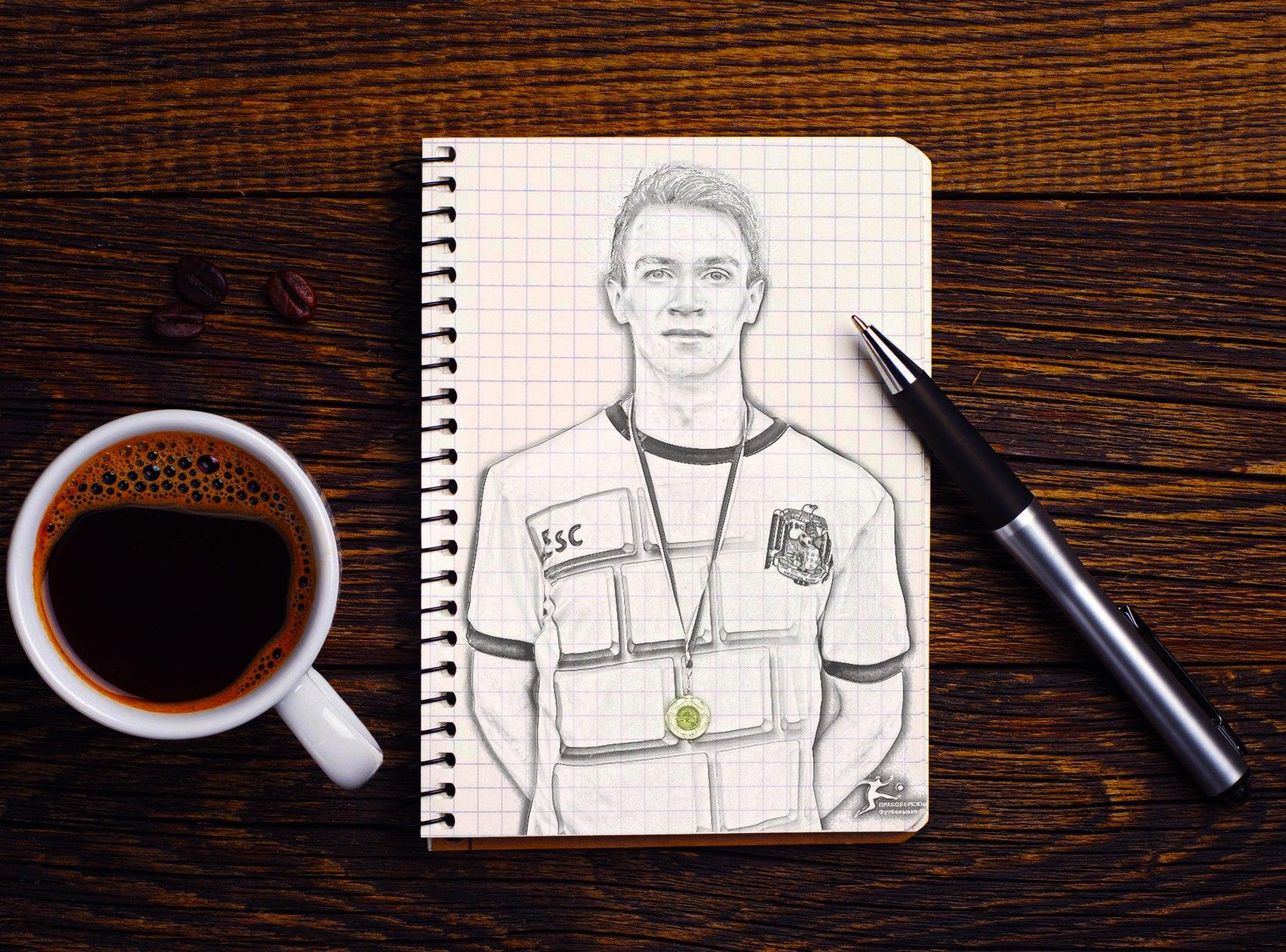 Алексей Самсонов, рисунок карандашом