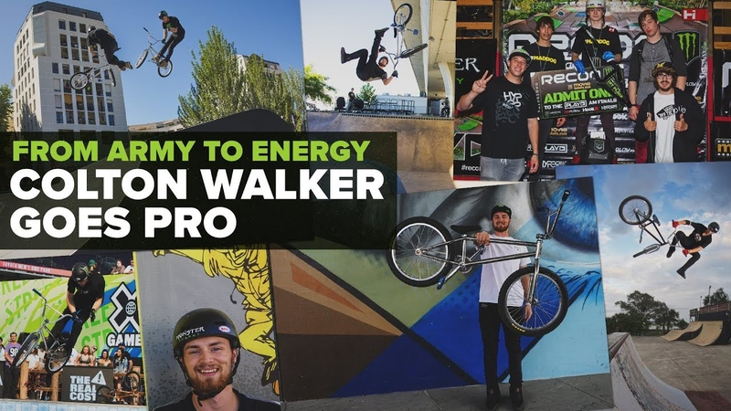 From Army to Energy - Colton Walker Goes Pro