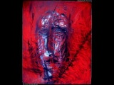 A. Alyonin art outside art brut depressed horror painting mad Exhibition painter from Russia