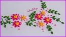 Hand Embroidery: Brazilian Embroidery | Bordado a Mano: Bordado Brasileño | Artesd'Olga