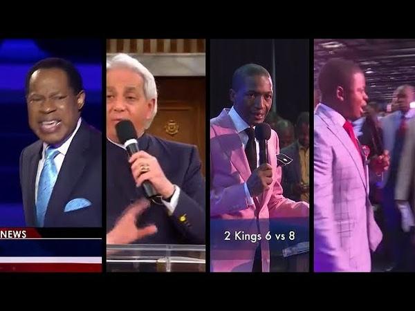 Demonstrations by God's Generals - Pastor Chris, Pastor Benny, Prophet Bushiri, Prophet Angel