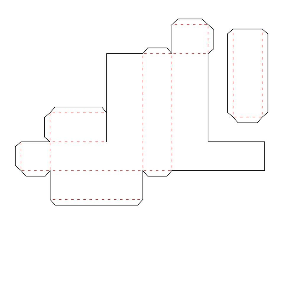 Объемные буквы своими руками из картона схема 372