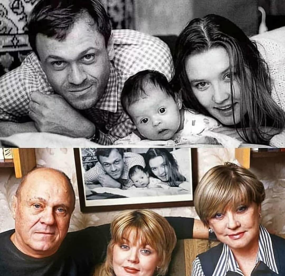 Потрясающее семейство Меньшовых спустя многие годы ????