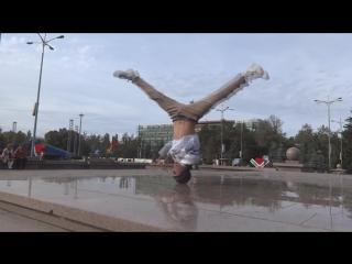 #2 #dance І Bboy Serg  Bboy Sula (SEVEN KZ CREW) Талдыкорган 2015 video №1