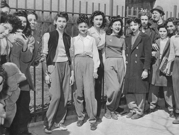 Как брюки постепенно вошли в гардероб женщин