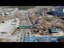 Строительство многоуровневой развязки на трассе М 5 Тольятти Togliatti Russia