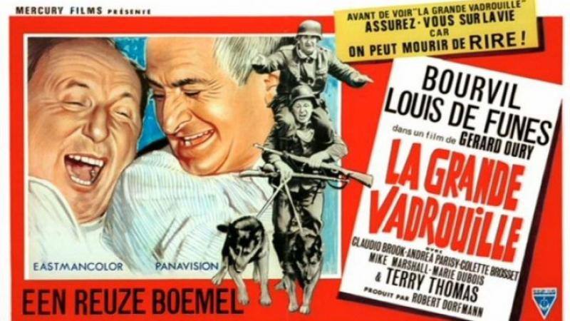 Большая прогулка - La Grande Vadrouille (1966)
