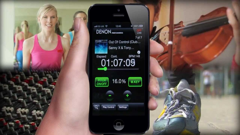 Denon Professional Pitch Control App for iOS - Overview Video