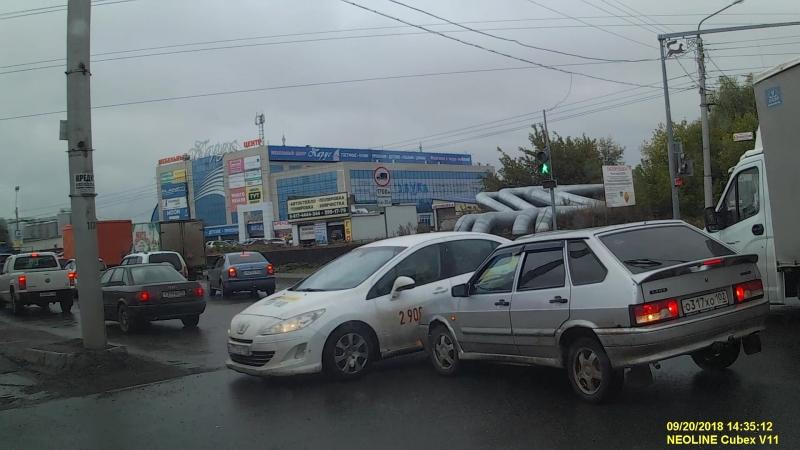 ДТП перекрёсток ул Трамвайная Седова 20 09 2018