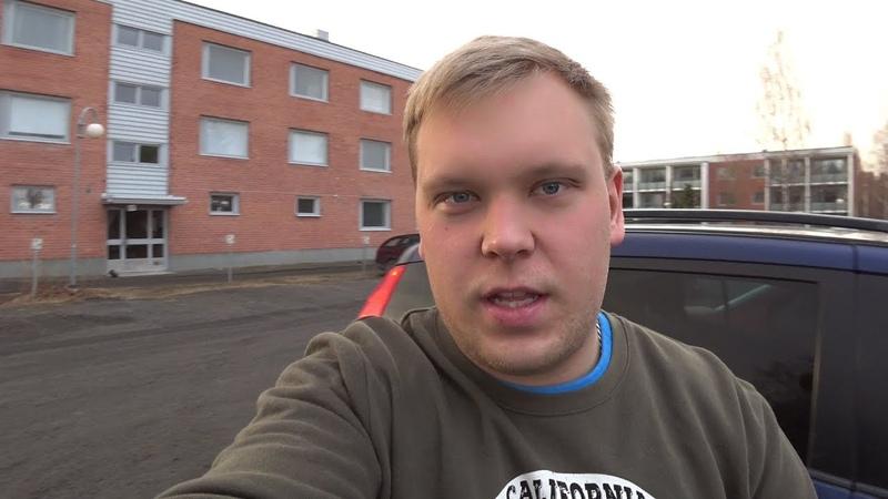 Я в Финской Забастовке на что жить?! Робот пылесос.